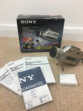 Sony M-100MC Microcassette Recorder Microphone Dictaphone