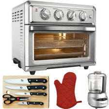 Cuisinart Convection Toaster Oven Air Fryer Silver + Ultimate KItchen Bundle