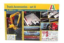 Italeri 3854 Truck Accessories Set 2 1/24 New Truck Parts Model Kit