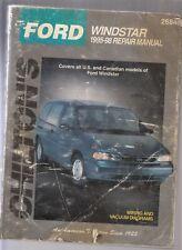 FORD WINDSTAR 1995-98 REPAIR MANUAL(ALL US & CAN. MODELS)-WIRING & VACUUM DIAG.