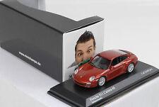 2008 PORSCHE 911 997 Carrera 4s Red Metallic 1:64 Minichamps