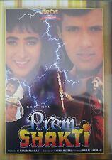 PREM SHAKTI EROS BOLLYWOOD DVD - Govinda, Karishma Kapoor, Punit Issar.