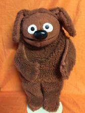 "Vintage 1977 Fisher Price ROWLF Muppet Doll Jim Henson 16"" Hand Puppet 852 NICE!"
