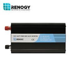 Open Box Renogy 1000 Watt 12V Off Grid Pure-Sine Wave Inverter Final Sale Fair