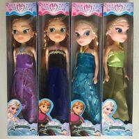 NEW 2018 Anna Elsa disney frozen princess dolls toys