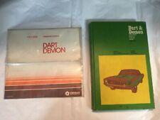 Chilton DART & DEMON 1965-72 Repair & Tune-Up Guide Plus Operators Manual