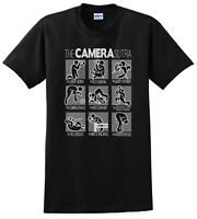 The CAMERA Sutra T-Shirt Photography Funny T-shirts