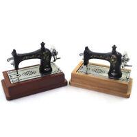 1:12 Dollhouse Miniature Vintage Sewing Machine Model Furniture Accessor-S1 YK