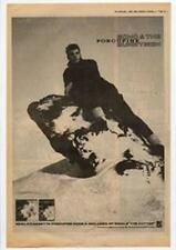 Echo & The Bunnymen Porcupine Advert NME Cutting 1983