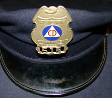 CIVIL DEFENSE 2 OBSOLETE  POLICE BADGES LOT ERIE COUNTY SHERIFF DEPUTY MUST SEE