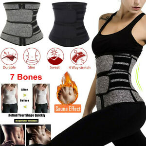 Waist Trainer Women Corset Sauna Sweat Weight Loss Body Shaper Yoga Slimmer Belt