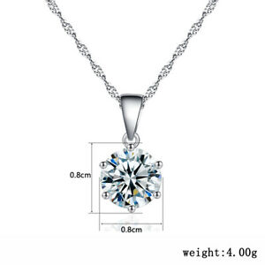 Six Claw Eight Heart Eight Arrow Pendant Zircon 925 sterling Necklace Small