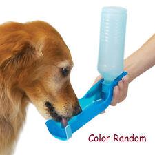 New Portable Pet Water Bowl Bottle Dispenser Dog Cat Drinking Fountain Hot