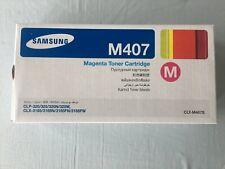 Samsung Genuine CLT-M407S Magenta  Toner for CLP-320N,CLP-325,CLX-3185,CLX-3185F