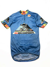 Castelli Vintage 1986 World Championship Cycling Jersey UCI USCF Size 5 M-L