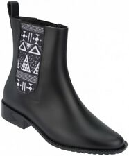 Mel By Melissa Plum Boot Black Size 5 RRP £55