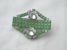 Czech Glass Rhinestones Button, Dazzle & Bling! Item 232