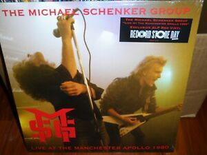 The Michael Schenker Group Live at the Manchester Apollo 1980 2021 RSD LP NEW