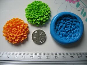 Chrysanthemum Flower Silicone Mould/Mold Sugar Craft, Cupcakes, Toppers