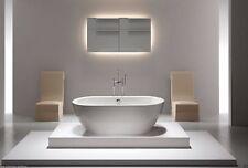 """Acrylic Bathtub - Freestanding - Soaking Tub - Modern Bathtub - Biagio - 68"""""""