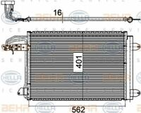 8FC 351 301-044 HELLA Condenser  air conditioning