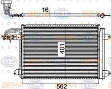 8FC 351 301-044 Hella Condensador De Aire Acondicionado