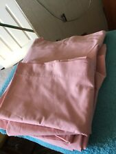 Double Pink Fitted Sheet & 2 Matching Pillowcases