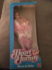 Mattel Barbie'S 1984 The Heart Family Mom And Baby