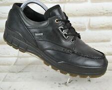 ECCO TRACK Gore-Tex Black Leather Mens Outdoor Waterproof Boots Size 10 UK 44 EU