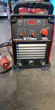 Saldatrice inverter LINCOLN ELETRIC 270SX procedimento Elettrodo e TIG