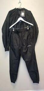 BOXRAW Hagler Professional Sauna Suit Top & Bottoms Non Rip, SIZE L, NEW  # (BT)