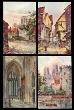 York Collectable English Postcard Collections/Bulk Lots