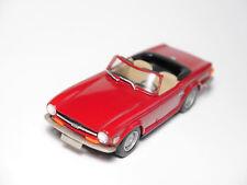 Triumph TR 6 rot rouge rosso red, Handarbeit handmade / SMTS K&R Replicas 1:43!