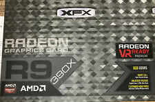 XFX R9-390X-8DFR AMD Radeon R9 390X 8GB GDDR5 PCI Express 3.0 Graphics Card Used