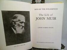John Muir Son of the Wilderness Conservation National Parks Environmentalist HB