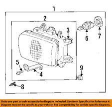 TOYOTA OEM Headlight Head Light Lamp-Bulb Retainer 9007599010
