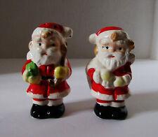 "Vintage Christmas Salt & Pepper Shaker  Santa Claus 3"" Japan Shakers"