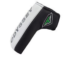 NEW Odyssey Toulon Design Black/White/Green Blade Putter Headcover