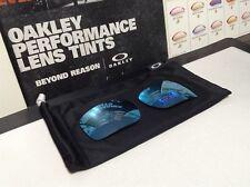 Oakley Fuel Cell Prizm Deep Water Polarized lens set - New w/ Microfiber Bag