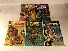 TUROK  SON OF STONE #92,93,94,95,96 DINOSAURS GOLD KEY 1974