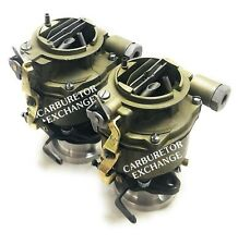 Chevy & GMC Remanufactured Dual Rochester 1 barrel Carburetors 235 Engine