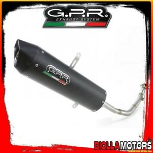 POT LIGNE FULL GPR HONDA SILVER WING 125 - S-Wing 125 125CC 2009-2013 APPROVED F