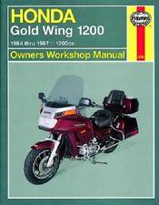 HAYNES SERVICE REPAIR MANUAL HONDA GL1200 GOLD WING 1984 1985 1986 1987 MODELS