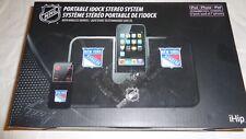 iHip New York Rangers Portable Idock Stereo System