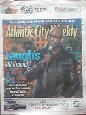 DAVE CHAPPELLE COVER ATLANTIC CITY PAPER  NEVER READ MAY 31-JUNE 6, 2018