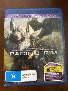 Pacific Rim (3-Disc Set Blu-Ray + DVD 2013) VGC