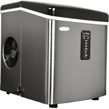 NewAir AI-100SS 28-Pound Portable Ice Maker - Stainless Steel