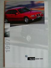 Prospekt BMW Programm 1997, 2.1996, 36 Seiten mit M3, Z3, 840 Ci, 850 CSi