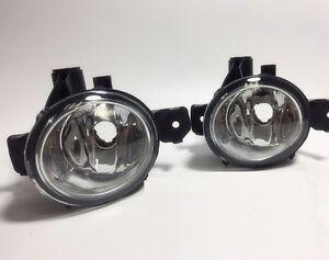 Pair Front Left Right LED Fog Light Lamp for BMW 1' E81 E87 E88 X1 E84 X5 E70