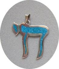"""STERLING SILVER """"CHAI""""  PENDANT - (P425-SS)   Free Shipping"""